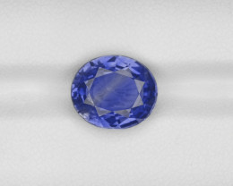 Blue Sapphire, 6.24ct - Mined in Madagascar | Certified by GRS