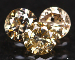0.53Ct Fancy Cognac Natural Diamond A1803