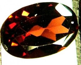 GARNET FACETED NATURAL STONE 0.55 CTS FN 4194  (TBG-GR)