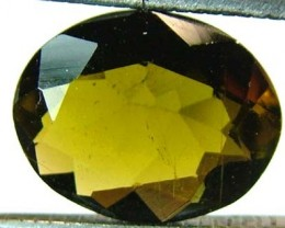 GOLDEN TOURMALINE FACETED STONE 2.45 CTS FN 4359 (TBG-GR)