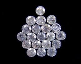 GENUINE  DIAMOND PARCEL 2-3 POINTERS 0.377 CARATS TW 157