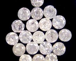 GENUINE  DIAMOND PARCEL 2-3 POINTERS 0.364 CARATS TW 159