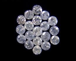 GENUINE  DIAMOND PARCEL 2-3 POINTERS 0.379 CARATS TW 161