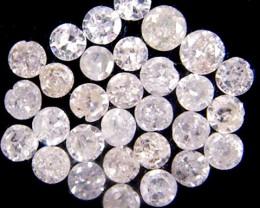 GENUINE  DIAMOND PARCEL 1.3-2 POINTERS 0.376 CARATS TW 165