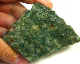 NATURAL AFGHANISTAN GREEN AGATE SLAB 865 CTS SGS 1168