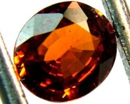 GARNET SPESSARTITE FACETED 1.15 CTS  FN 4568  (PG-GR)