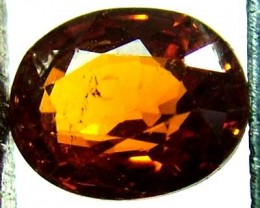 GARNET SPESSARTITE FACETED 1.15 CTS  FN 4569  (PG-GR)
