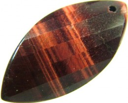 TIGER EYE RED -DRILLED TOP 11.4 CTS [MX2569]