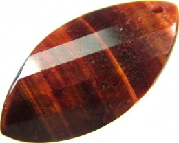 TIGER EYE RED -DRILLED TOP 10.5 CTS [MX2576]