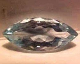 AQUAMARINE  5.50 CARAT WEIGHT MARQUISE CUT GEMSTONE BEAUTY