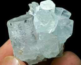 Lovely Aquamarine cluster have good luster  105 Cts-Pakistan