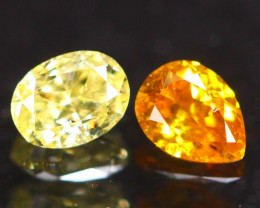 0.21Ct Fancy Intense Yellow Orange Natural Diamond C1803