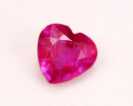 1.75Ct Pink Ruby Heart Cut Lot LZ2654
