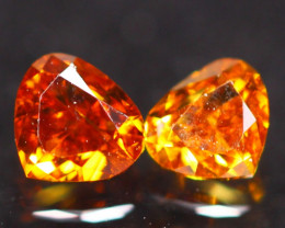 0.30Ct Fancy Vivid Orange Natural Diamond B1905