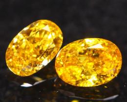 0.24Ct Fancy Vivid Intense Yellow Natural Diamond C1910