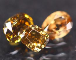 0.66Ct Fancy Vivid Cognac Natural Diamond C1911