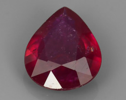 3.45 Cts Tremendous Oval Shape Natural Madagascar Ruby!!