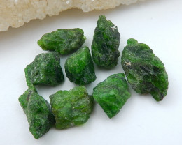 93.5cts Handmade Green Gemstone ,Dioptase Cabochons ,Lucky Stone C897