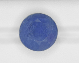 Blue Sapphire, 25.56ct - Mined in Burma   Certified by GRS