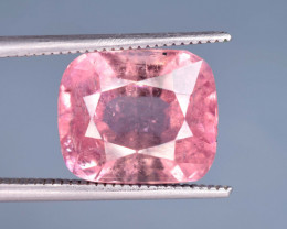 6.20 Carats Natural Pink Color Tourmaline Gemstone From Afghanistan