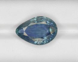Blue Sapphire, 13.97ct - Mined in Burma | Certified by GRS