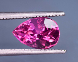 1.55 Carats Natural Red Color Tourmaline Gemstone From Africa