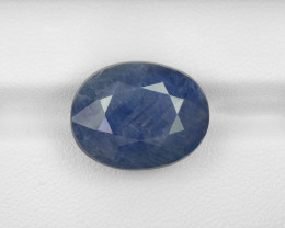 Blue Sapphire, 19.88ct - Mined in Burma   Certified by IGI