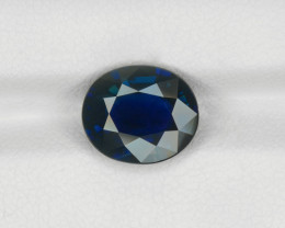 Blue Sapphire, 3.95ct - Mined in Madagascar | Certified by GRS