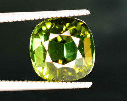4.20 Carats Natural Green Color Tourmaline Gemstone From Africa