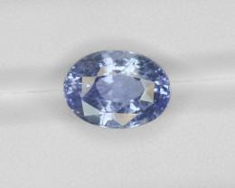 Blue Sapphire, 9.63ct - Mined in Sri Lanka   Certified by GRS