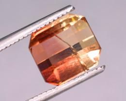 2.25 Carats Natural Bi Color Tourmaline Gemstone From Africa