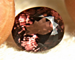 CERTIFIED - 6.71 Ct VVS Purplish Pink Tourmaline - Gorgeous