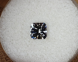 1,70ct bicoloured Tanzanite - Unheated & Master cut!