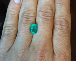 4,22ct Colombian Emerald 17/23 Colombian Natural Emerald Colombian Natu Eme