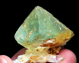 Amazing Faceted grade Fluorite with Quartz 200 Cts-Pakistan