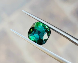 2.35 Ct Natural Greenish Blue Transparent Tourmaline Gemstone