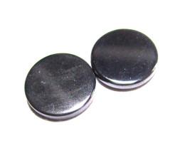 8.62cts Hematite Natural Matching Round Discs