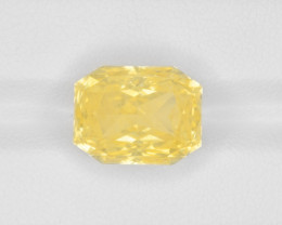 Yellow Sapphire, 12.32ct - Mined in Sri Lanka | Certified by GRS
