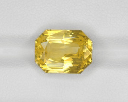 Yellow Sapphire, 9.03ct - Mined in Sri Lanka | Certified by GRS