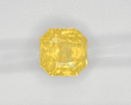 Yellow Sapphire, 8.15ct - Mined in Sri Lanka | Certified by GRS