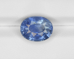 Blue Sapphire, 5.51ct - Mined in Sri Lanka | Certified by GIA