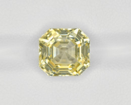 Yellow Sapphire, 5.96ct - Mined in Sri Lanka | Certified by IGI