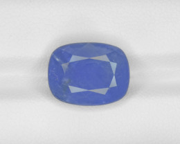 Blue Sapphire, 7.97ct - Mined in Burma | Certified by IGI