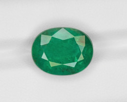 Emerald, 7.90ct - Mined in Zambia | Certified by AIGS