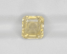Yellow Sapphire, 2.92ct - Mined in Sri Lanka | Certified by IGI