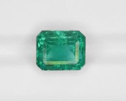Emerald, 5.74ct- Mined in Zambia