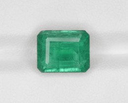 Emerald, 3.76ct-Mined in Zambia