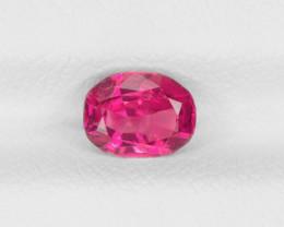 Ruby, 0.97ct - Mined in Burma | Certified by IGI