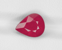 Ruby, 3.29ct - Mined in Tanzania | Certified by IGI
