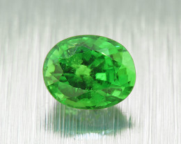 Natural Tsavorite Garnet.46 .Ct Vivid Green, good brilliance(01428)